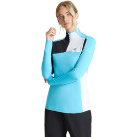 Dare 2b Default Camiseta Core Stretch Mujer, azure blue/black/white